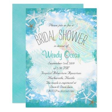 Under the Sea Bridal Shower Invitations