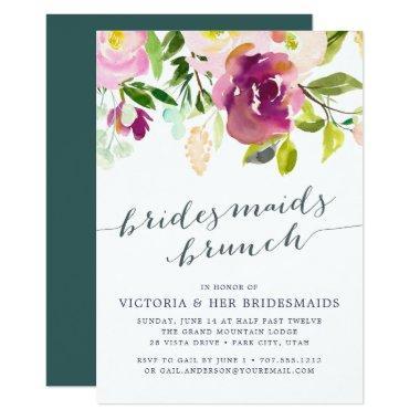Vibrant Bloom Bridesmaids Brunch