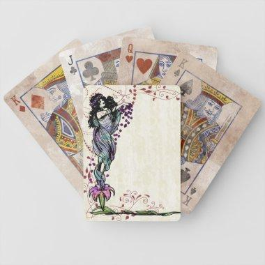 Vintage Fairy Customizable Playing