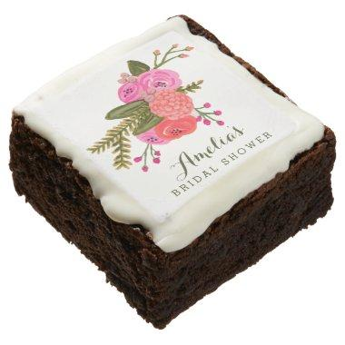 Vintage Garden  Chocolate Brownie