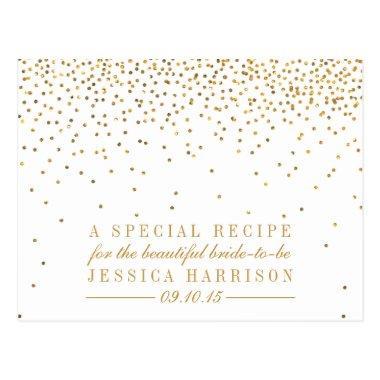 Vintage Gold Confetti  Recipe
