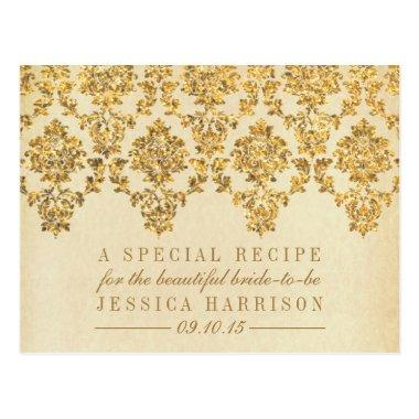 Vintage Gold Damask  Recipe