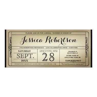 Vintage Ticket Style