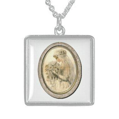 Vintage Wedding Victorian Bride Necklace