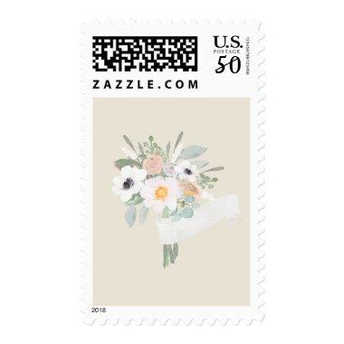 Watercolor Bouquet  Stamp