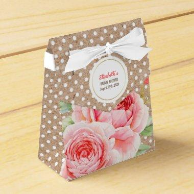 Watercolor Floral design  Favor Boxes