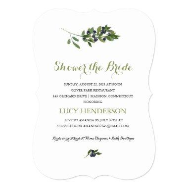 Watercolor Olive Orchard | Bridal Shower Invitations