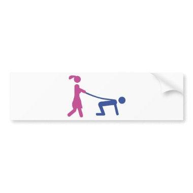 wedding bachelor party  bumper sticker