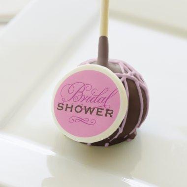 Wedding  Design | Magenta Pink Custom Cake Pops
