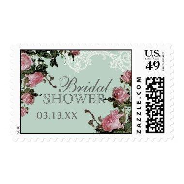 Wedding  Stamps, Trellis Rose Vintage Postage