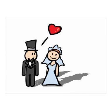 """Wedding Day"" couple design Post"