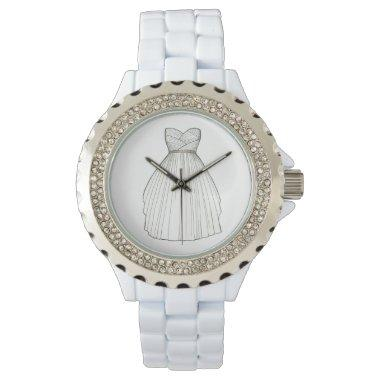 Wedding Dress Gown Bride  Watch
