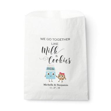 Wedding Favor Bag - We Go Together Cookies & Milk