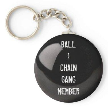 WEDDING GAG GIFT KEYCHAIN