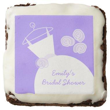 Wedding Gown Purple '' brownies