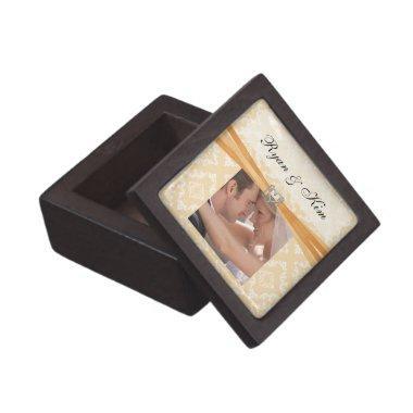 Wedding or  Favor Photo Gift Box