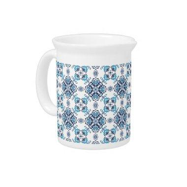 Wedding paisley tradition elegant pattern drink pitcher