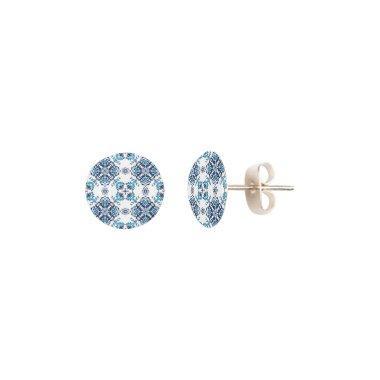 Wedding paisley tradition elegant pattern earrings
