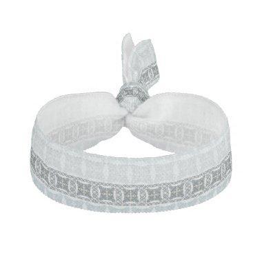 Wedding paisley tradition elegant pattern elastic hair tie