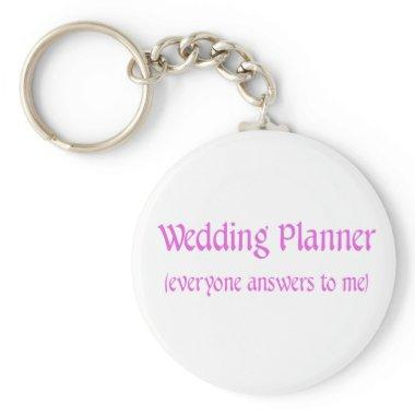 Wedding Planner Keychain