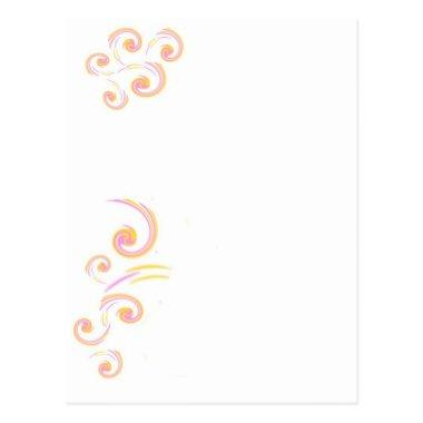 Wedding Stationary Light Curl set Post