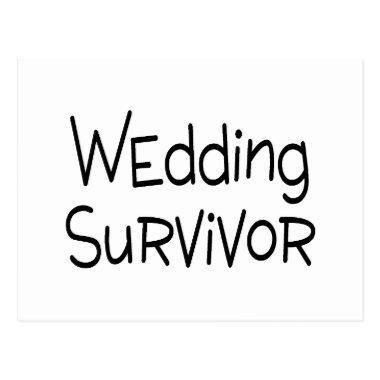 Wedding Survivor Post