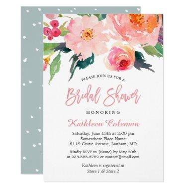 Whimsical Watercolor Floral Modern