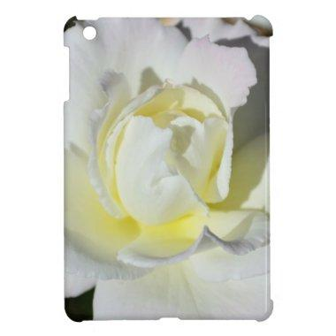 White and Yellow Rose iPad Mini Cases
