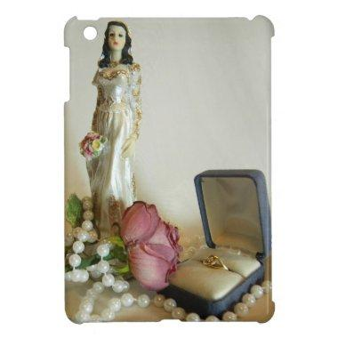 White Bridal IV iPad Mini Case