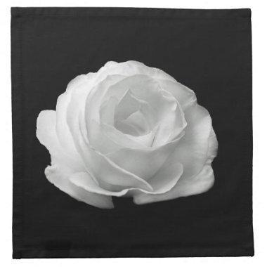White Rose Napkins
