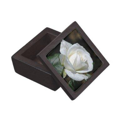 White Rose Treasure Box