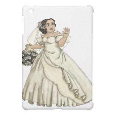 White Roses Bride Cover For The iPad Mini
