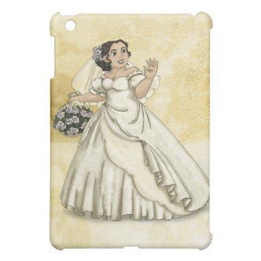 White Roses Bride iPad Mini Case