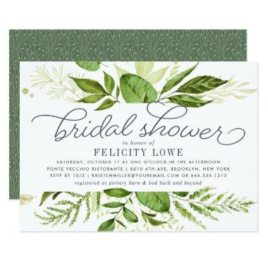 Wild Meadow Bridal Shower Invitations