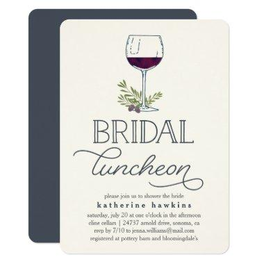 Winery or Wine Tasting Bridal Luncheon
