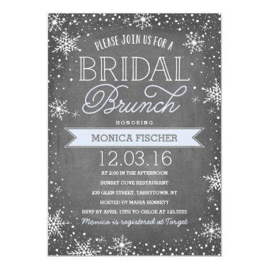Winter Bridal Brunch