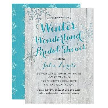 5b7cc7916f2 Winter Bridal Shower Invitations – Unique Bridal Shower