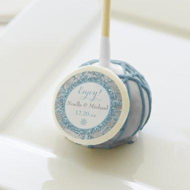 Winter Wonderland Wedding or Shower Cake Pops