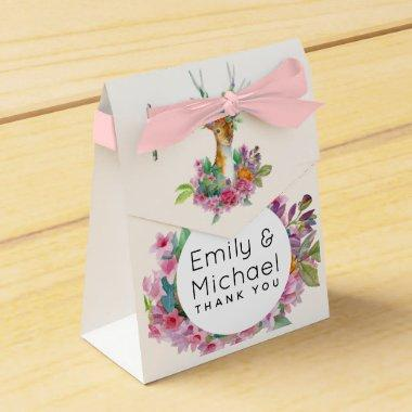 Woodland Deer Themed Party Supplies Custom Favor Box