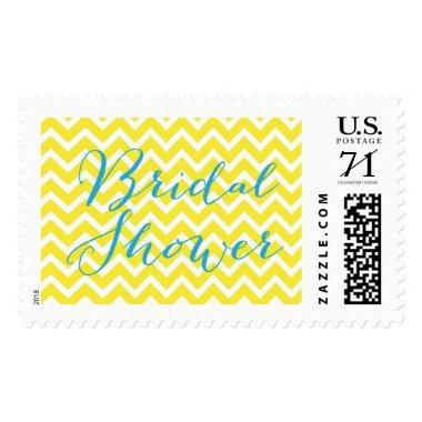 Yellow Chevron  Postage