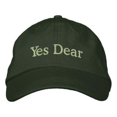 Yes Dear Cap for Groom