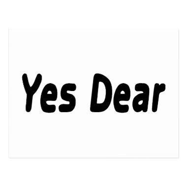 Yes Dear Post