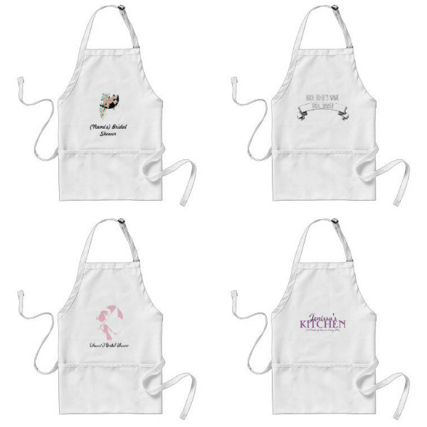 Bridal Shower Aprons