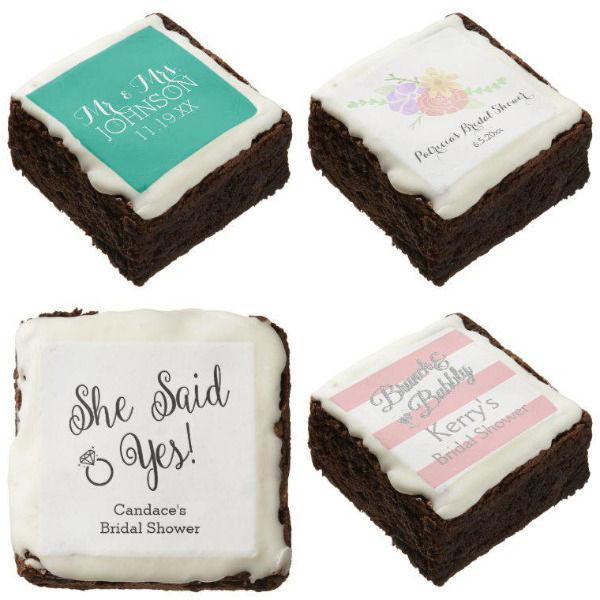 Bridal Shower Brownies