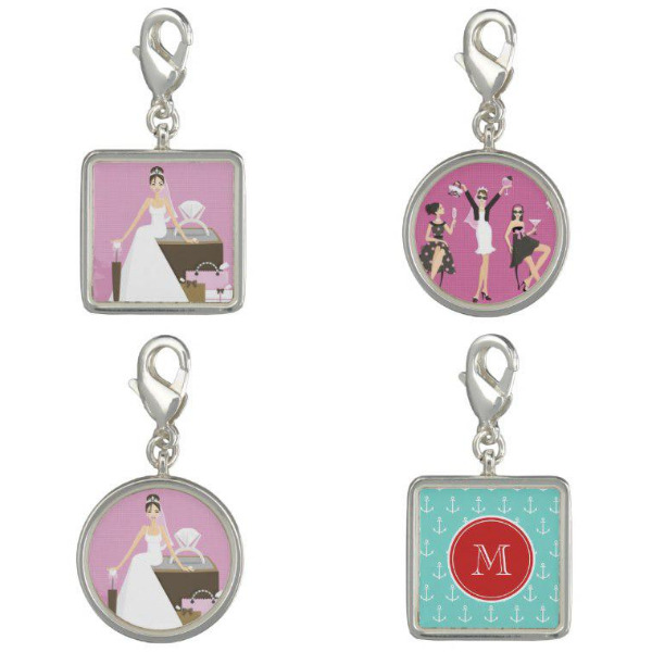 Bridal Shower Charms