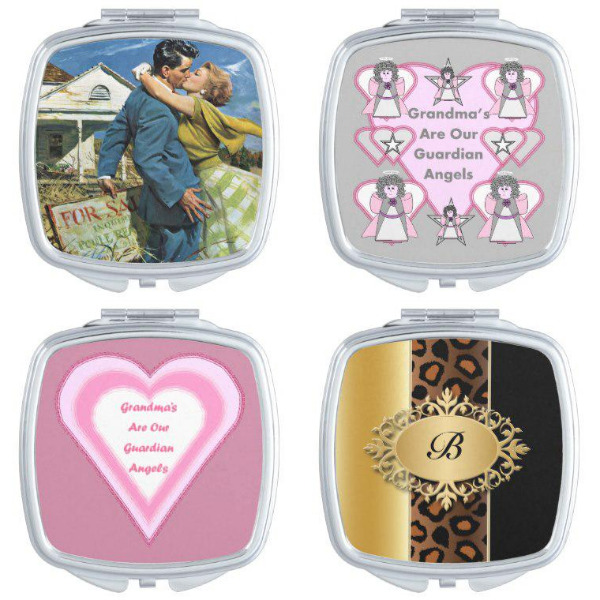 Bridal Shower Compact Mirrors