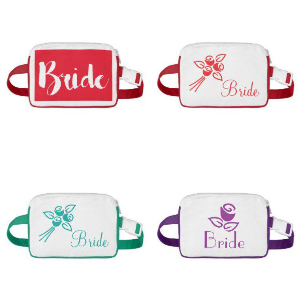 Bridal Shower Fanny Packs