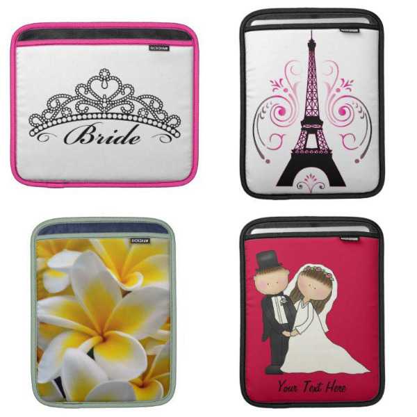 Bridal Shower iPad Sleeves