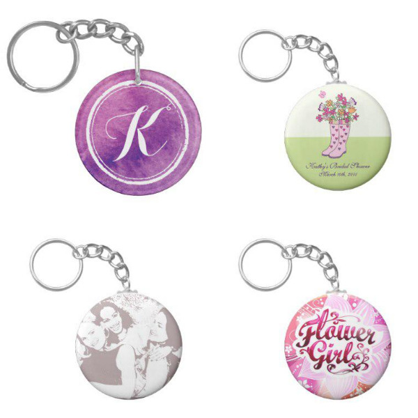 Bridal Shower Keychains