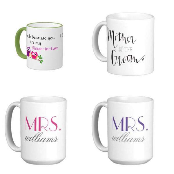 Bridal Shower Mugs